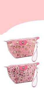Kitty Cat Cosmetic Bag