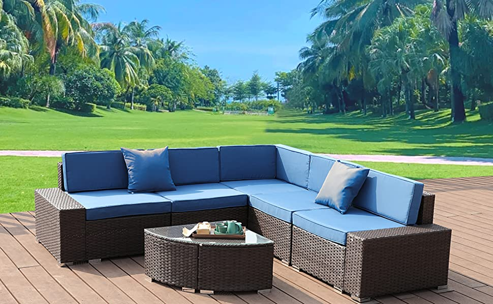 Patio Furniture Set Outdoor Sectional