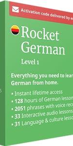 Rocket German Level One Box