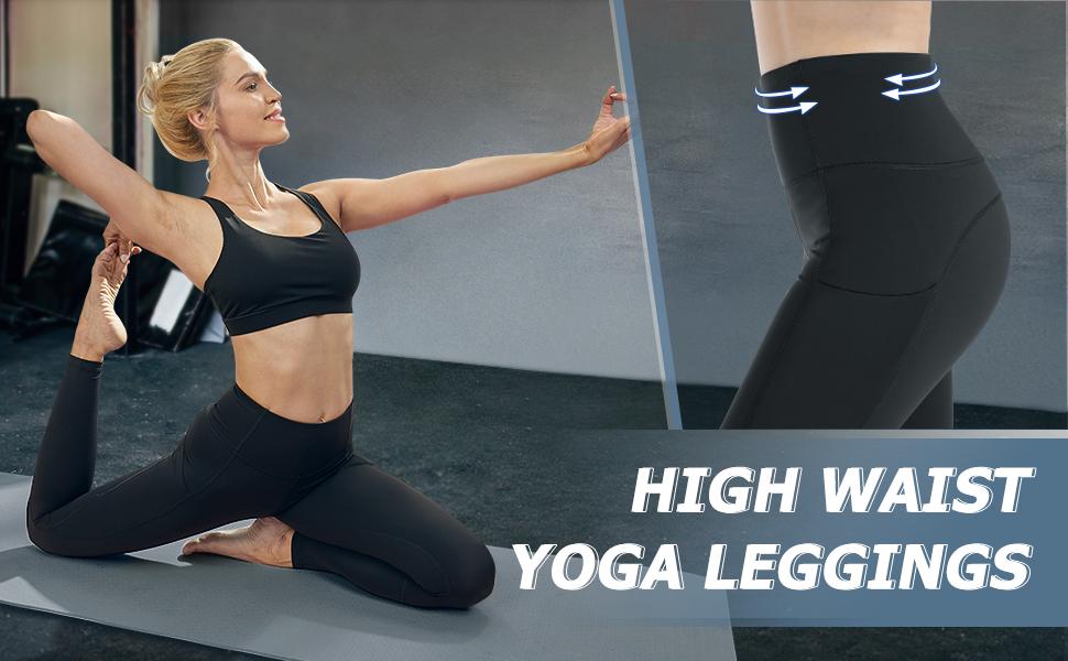 yoga leggings for women with pockets
