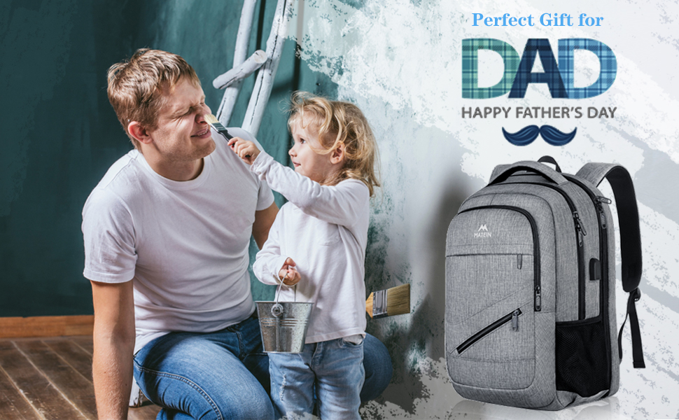 17 inch laptop backpack, TSA large travel backpack, School College bookbag