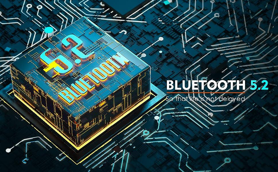 bluetooth headphone 5.2