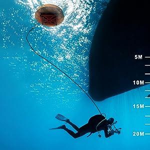Dive depth