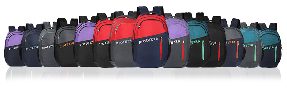 Protecta Twister Laptop Backpack Colour Options