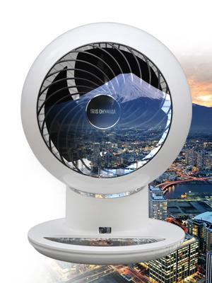 Ventilateur silencieux de bureau avec télécommande Woozoo par Iris Ohyama