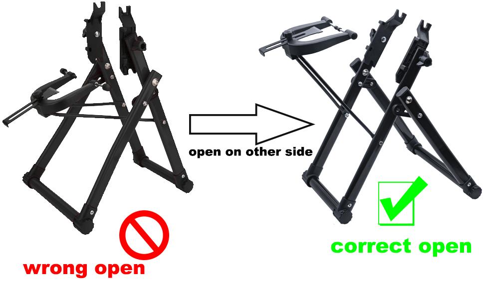 home mechanic bike wheel truing stand
