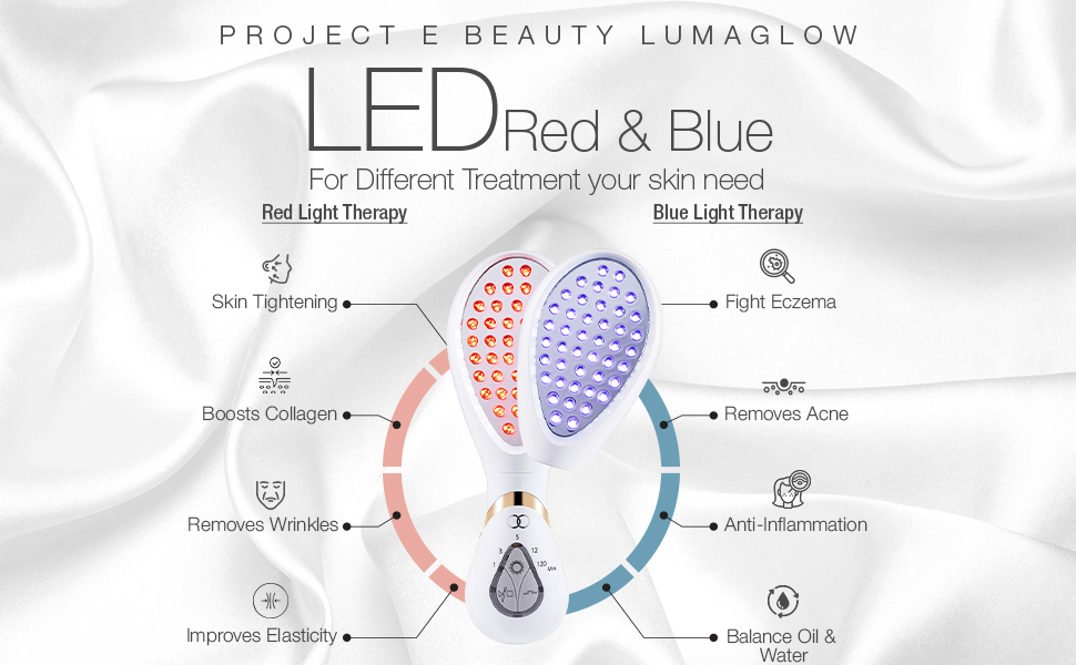 Red amp; Blue Light Therapy