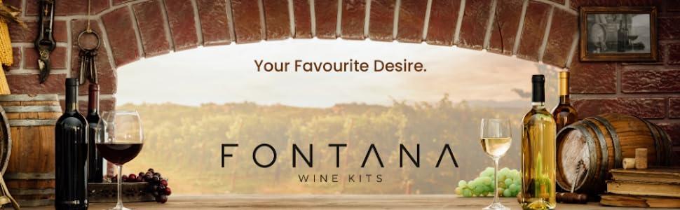 Fontana wine Kits