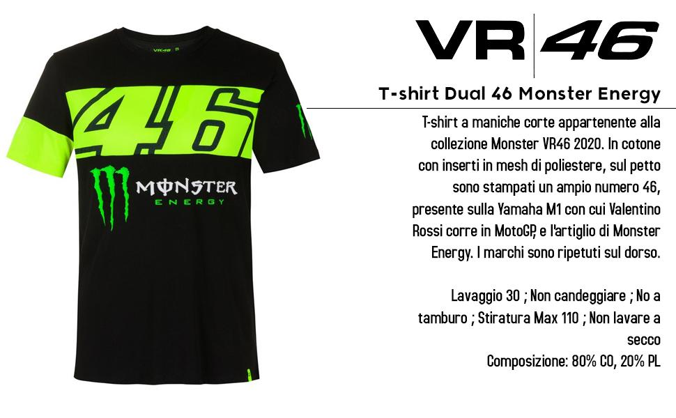 Camiseta Dual 46 Monster Energy