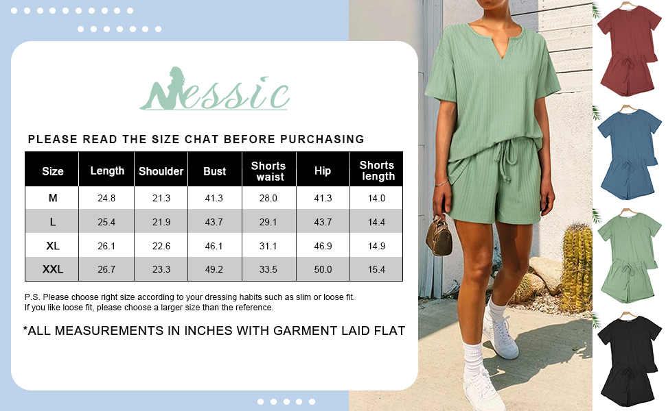pajama sets for women short sleeve summer 2 piece loungewear outfits sweatsuits matching sets