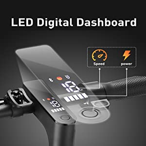 Panel de control LED y control de velocidad de crucero