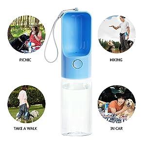 dog water bottle for travel