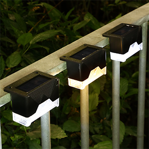 solar lights for fence