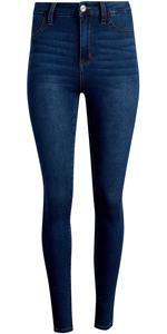 dollhouse Women's Skinny Jeans - Super Stretch Denim Curvy Jeans