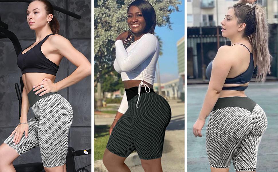 women tight shorts workout compression shorts women womens yoga shorts high waisted pants shorts