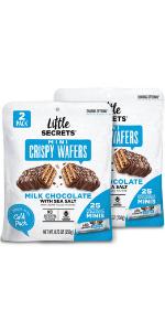 Little Secrets Milk Chocolate Mini Wafers