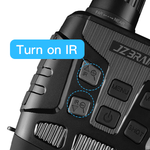 night vision goggles-turn on IR