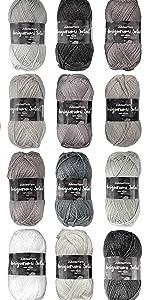 Suprise pack inspiration acrylic amigurumi select craft yarn knitting crochet skeins