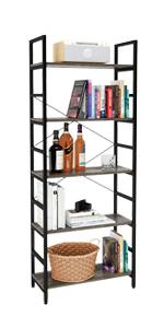 5 Tier Bookshelf