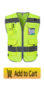 TCCFCCT Reflective safety work vest for men and women