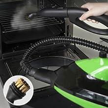 steam mop Copper Brush