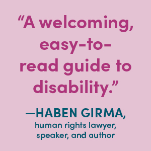 Haven Girma, A welcoming easy-to-read guide to disability