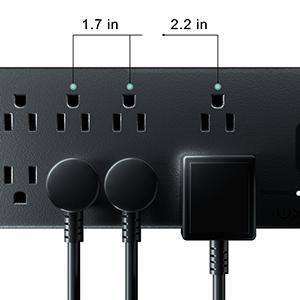 two wide plug