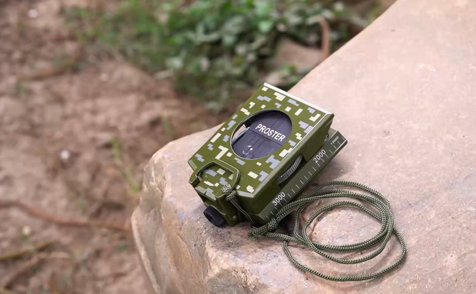 Proster IP65 Professional Military Compass