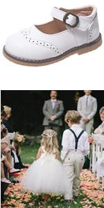 Girls School Dress Shoe Mary Jane Flat