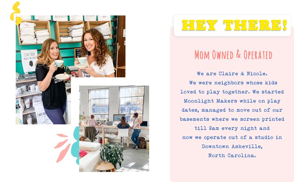 Funny Kitchen Flour Sack Dish Towel Sweet Housewarming Gift  MoonlightMakers
