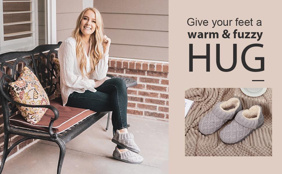 give you feet a warm amp; fuzzy hug