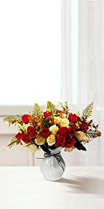 artificial roses artificial fall flowers with vase