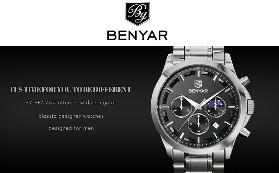 by benyar watch for men