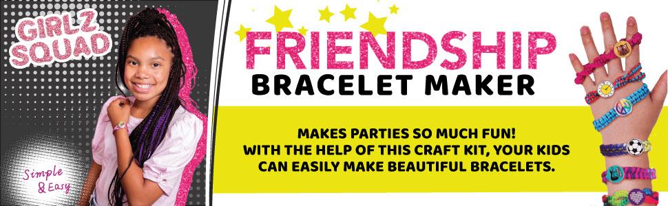 bracelet friendship girls making maker kids bracelets jewelry kits ages string craft loom year old
