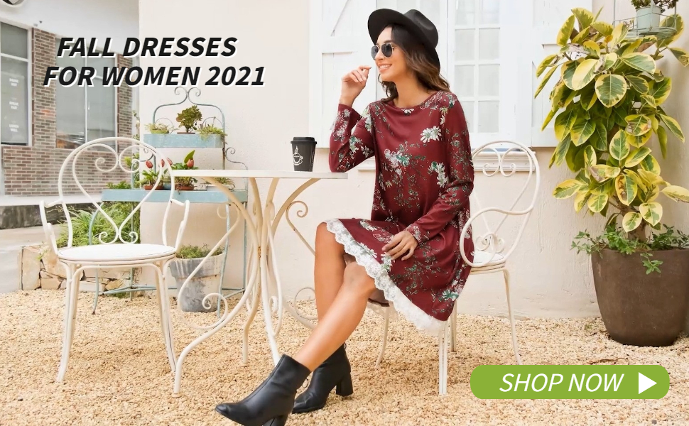 fall dresses for women casual long sleeve dress for women work elegant dresses for women plus size