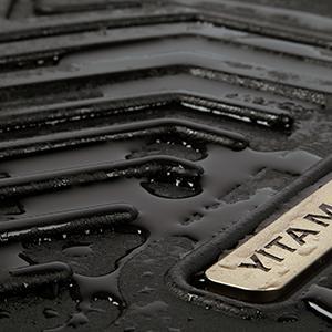 Custom Fit Car Floor Liners fit for 2013-2017 Honda Accord Sedans