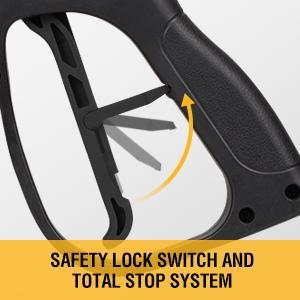 safety lock switch  Power Washer