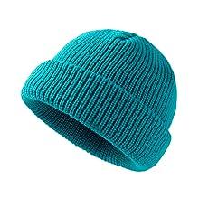 Beanie Watch Hat Roll-up Edge Skullcap