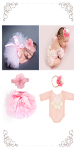 4PCS Newborn Photography Props Outfits