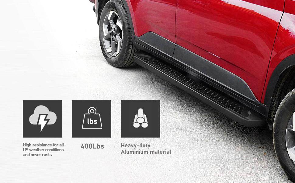 automotive exterior accessories truck long board roll tailgate step running boards door steps