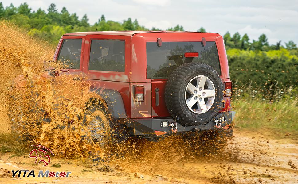 jeep jk rear bumper