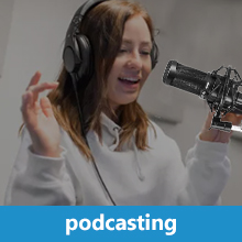 podcasting and broadcasting