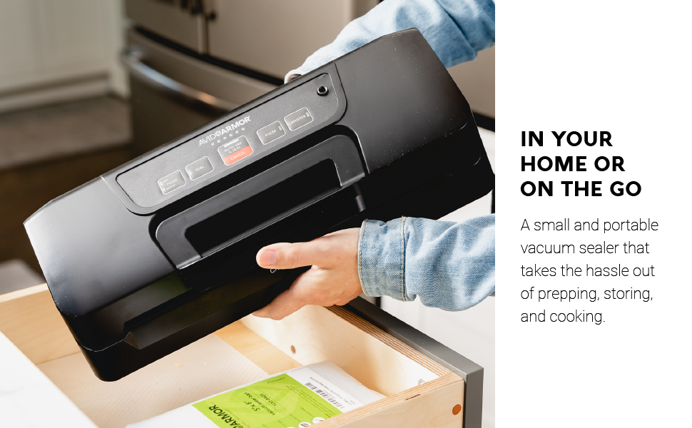 Avid Armor AVS7900, In Your Home or On The Go. A Small Portable Vacuum Sealer