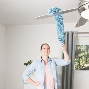 Flexible Feather Magic Microfiber Cleaning Duster , Dust Cleaner, seas worth