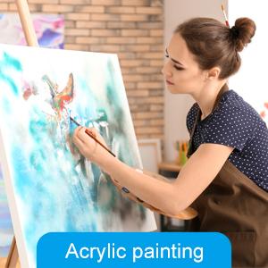 Artysta puste płótno