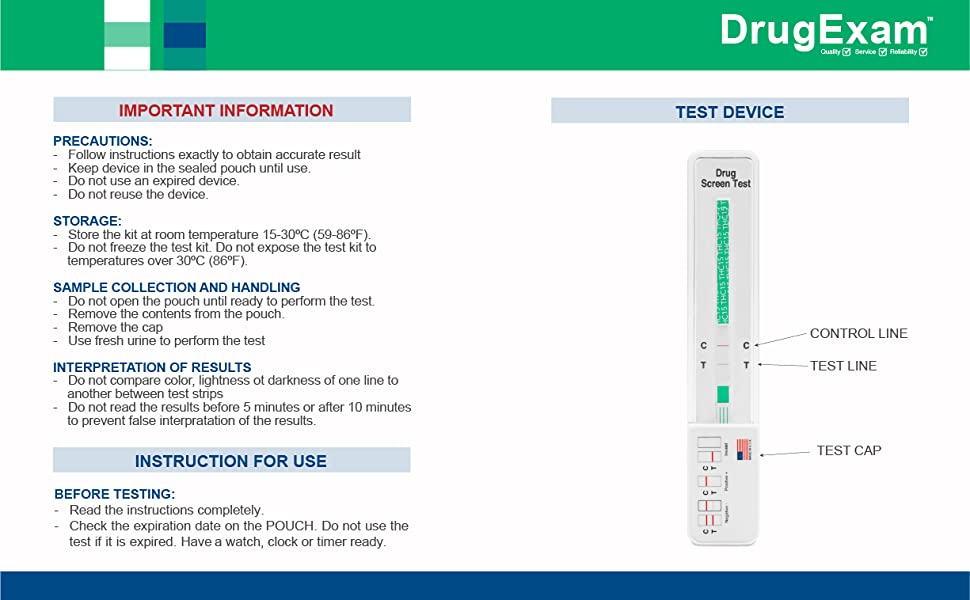 DrugExam THC 15 ng/mL