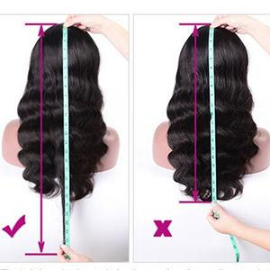 body wave lace front wigs human hair
