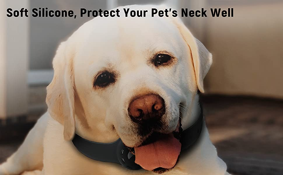 Soft Silicone, Protect Your Pet's Neck Well