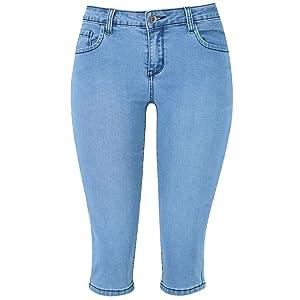 jean capris for women