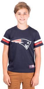 Ultra Game Boys' NFL Mesh Vintage Jersey Tee Shirt